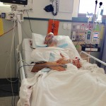 recovering after brain surgery