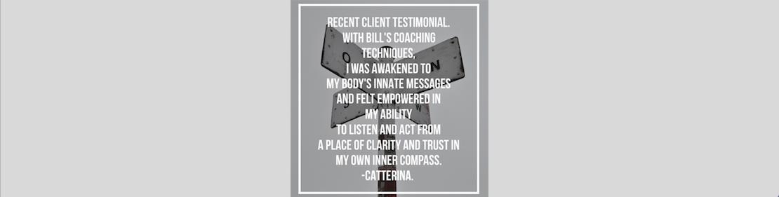 Life Coaching Testimonial